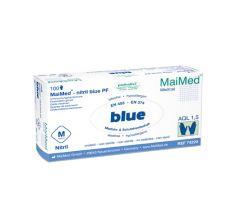 MaiMed®-nitril blue puderfrei